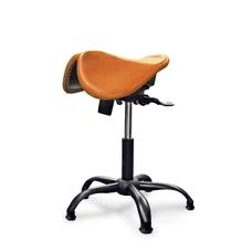 Gravitonus EZDuo Country - эргономичный стул-седло, двуразделенное седло, твердая кожа