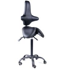 Gravitonus EZSolo Back - эргономичный стул-седло со спинкой