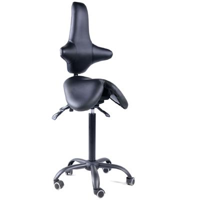 Gravitonus EZSolo Back - эргономичный стул-седло врача-стоматолога со спинкой | Gravitonus (США - Россия)