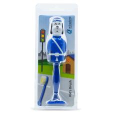 Kid's Brush Собачка Bill - детская зубная щетка с защитным футляром, синяя