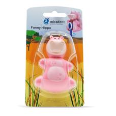 Funny Hippo (Бегемот) - гигиенический футляр для зубных щёток с дверкой-защёлкой