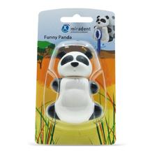 Funny Panda (Панда) - гигиенический футляр для зубных щёток с дверками-защёлками