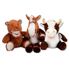 Putzi-Petz Cow Berta - наручная игрушка с челюстью корова Берта