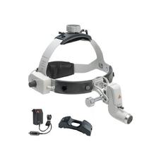 Heine ML4 LED UNPLUGGED - налобный светодиодный осветитель с аккумулятором на шлеме