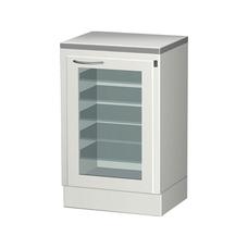 СЕ 110-2М - шкаф с выдвижными полками и облучателем бактерицидным для хранения стерильного инструмента
