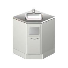 СЕ 135 - стол-тумба для раковины и мусоросборника углового исполнения