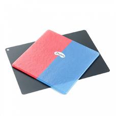 Mouthguard Laminates Blue/Red - двухцветные красно-голубые пластины для вакуумформера, 4,0 мм (12 шт.)