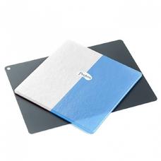 Mouthguard Laminates Blue/White - двухцветные , белоголубые пластины для вакуумформера, 4,0 мм (12 шт.)