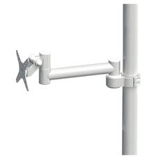 DS-40-1 - кронштейн для стоматологической установки, длина 360 мм, провода частично снаружи