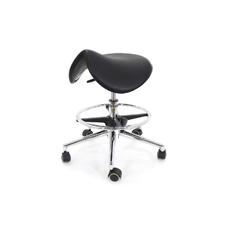 Ergo MA01 - эргономичный стул-седло, черный полиуретан