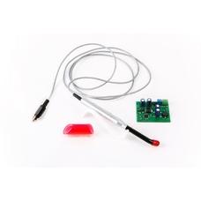 LED-актив-04П 24 В - встраиваемая светодиодная лампа со световым излучением зеленого цвета, пульт управления