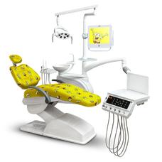 Mercury 4800 Kids - стоматологическая установка с нижней/верхней подачей инструментов