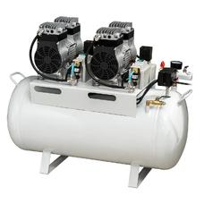TY W-2 (ND-200) - безмасляный компрессор для 3-х стоматологических установок, с ресивером 65 л (200 л/мин)