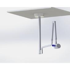 DS-Pot-Geliodent - стойка потолочная с пластиной для рентгеновского аппарата Sirona
