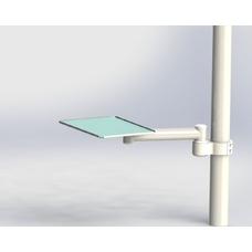 DS-Tab-1-40-250-65 - подвесной инструментальный столик для стоматологической установки Sirona Intego