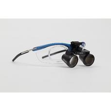 GL4 Sport 2.5 - бинокулярные лупы системы Flip-up на спортивной оправе, увеличение 2.5x