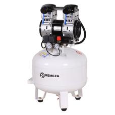 Remeza КМ-50.OLD20 - безмасляный компрессор для 2-х стоматологических установок, без осушителя, с ресивером 50 л, 180 л/мин