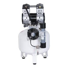 Remeza КМ-50.OLD20Д - безмасляный компрессор для 2-х стоматологических установок, с осушителем мембранного типа, с ресивером 50 л, 160 л/мин