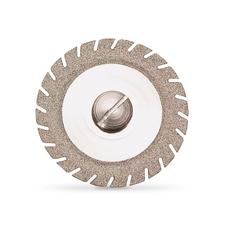 Алмазный отрезной диск TURBO-FLEX S для сепарирования керамики, диаметр 19 мм, толщина 0,15 мм