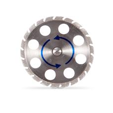 Отрезной диск с алмазным покрытием PLASTERCUT для выпиливания штампиков из зубного ряда, диаметр 30 мм