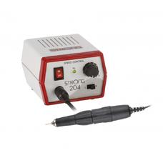 STRONG 204 102L - щеточный микромотор с наконечником 102L, 35000 об/мин