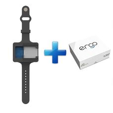 ERGO Starter kit + Foam refill - силиконовый браслет для организации и чистки  эндодонтических инструментов с набором губок, 48 шт.