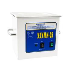 УЗУМИ 05 - ультразвуковая мойка для предстерилизационной очистки стоматологического инструмента, 1 л