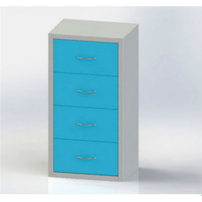 Шке-4 - шкаф медицинский картотечный
