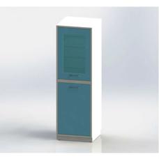ШМБе-1см - шкаф закрытого типа, 2 секции, УФ-бактерицидный облучатель