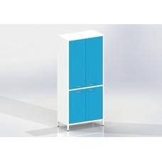 Шме-2мм эконом - шкаф закрытого типа, 2 секции