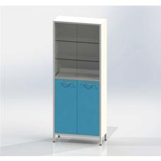 Шме-2см эконом - шкаф закрытого типа, 2 секции