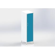 ШМОе-1м - шкаф закрытого типа, 2 полки и штанга для одежды