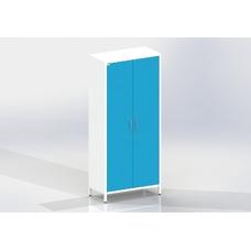 ШМОе-2м - шкаф закрытого типа, 2 полки и штанга для одежды