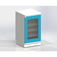 ТБ - тумба бактерицидная на подиуме серия Люкс, 2 ультрафиолетовые лампы