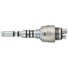 KCL-LED - быстросъемный переходник с оптикой, с регулятором подачи воды