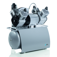 Quattro - четырехцилиндровый безмасляный компрессор с осушителем, ресивер 50 л, 230 л/мин