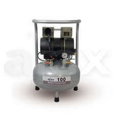 Ajax 100 - безмасляный компрессор для одной стоматологической установки, с ресивером 24 л (65 л/мин)