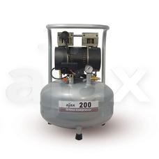 Ajax 200 - безмасляный компрессор для одной стоматологической установки, с ресивером 35 л (85 л/мин)