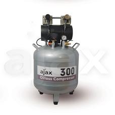 Ajax 300 - безмасляный компрессор для 2-х стоматологических установок, с ресивером 70 л (130 л/мин)