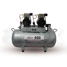 Ajax 400 - безмасляный компрессор для 2-х стоматологических установок, с ресивером 80 л (170 л/мин)