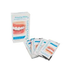 Amazing White Super Stripes - полоски для отбеливания зубов