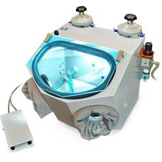 АСОЗ 5.2 У - пескоструйный аппарат для зуботехнических лабораторий
