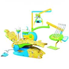 QL-2028 CD - детская стоматологическая установка с верхней подачей инструментов