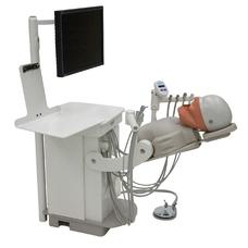 Стоматологическая установка стационарный симулятор, со светильником