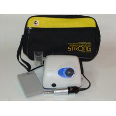 STRONG 210 108NE - щеточный микромотор с наконечником 108NE (терапевтический) и педалью включения–выключения, 40000 об/мин